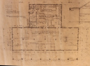 First Floor Plan Photograph